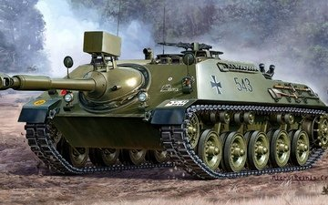 figure, german, self-propelled, anti-tank
