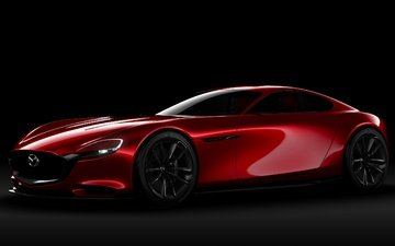 red, concept, the concept, mazda, rx-vision
