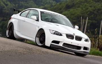 background, white, tuning, bmw, e92, the front, m3, alpha-n, bt92