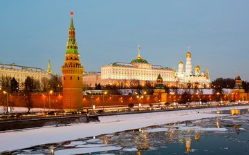 moscow, the kremlin, russia
