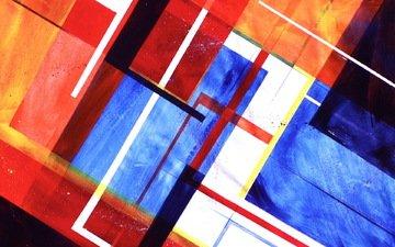 абстракция, текстура, цвет, форма