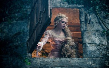 "the film, into the woods, ""the farther into the forest"""