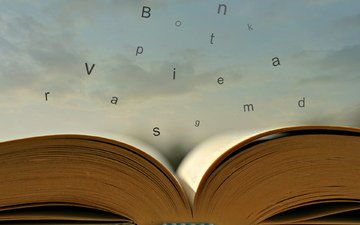 letters, book, escape