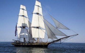 ship, sailboat, yacht