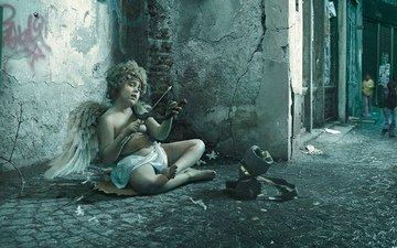 angel, creative, cupid