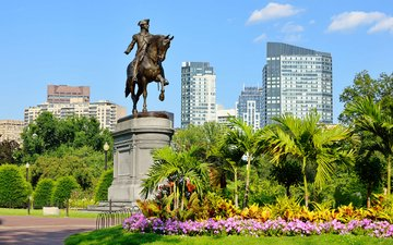 город, сша, памятник, бостон