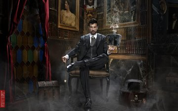 creative, male, the magician