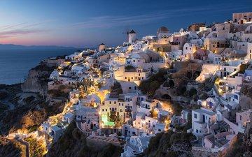 город, побережье, греция