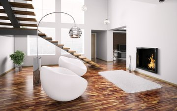 interior, design, living room