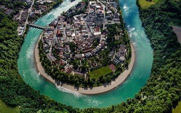 river, germany, bing, wasserburg