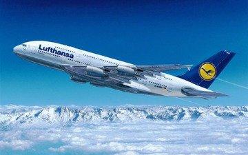 самолет, airbus, a380