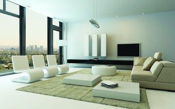 стиль, интерьер, дизайн, гостиная