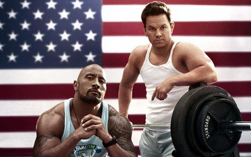 "the film, actors, dwayne johnson, ""blood and then: anabolics"", michael wahlberg"