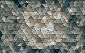 background, pattern, color, mosaic, figure, abstraction, triangles