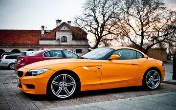 orange, charm, z4, disks, bmw photo