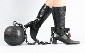 castle, chain, fashion, steel ball, obsession