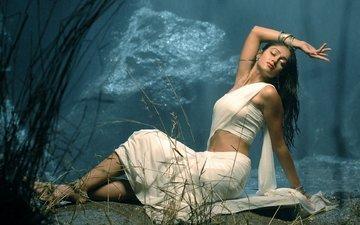 белая, индеец, горячая, ноч, сари, illeana, wet saree, сексапильная, aктриса