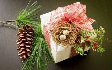 новый год, подарок, праздник, рождество, встреча нового года, елочная