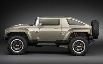 machine, jeep, hamer