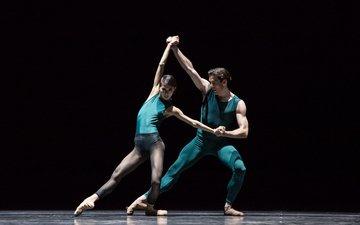 девушка, танец, мужчина, балет