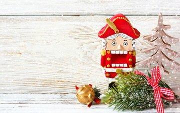 новый год, елка, украшения, рождество, елочные игрушки, xmas, декорация, елочная, merry, щелкунчик