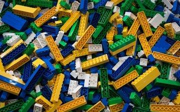 цвет, лего, игрушки, много, кирпичи, расцветка, игрушек, многим, конструктор
