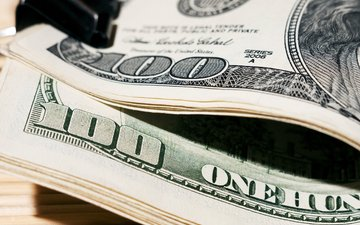 paper, money, dollars, dollar, 100, green