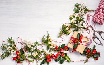 снег, новый год, украшения, рождество, xmas, дары, декорация, елочная, merry