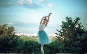 девушка, настроение, россия, ножки, балерина, пуанты, георгий чернядьев