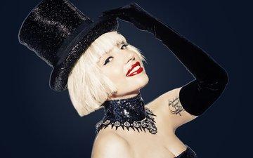red, fashion, icon, pop, black, jazz, lady gaga, actress, music, singer