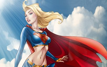 girl, costume, supergirl, kara zor-el