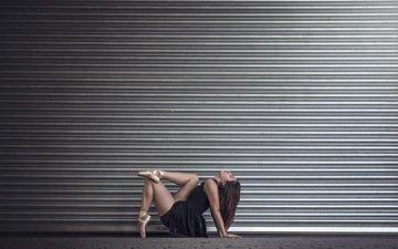 девушка, фон, балерина