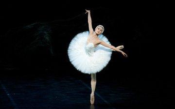 девушка, танец, балет, балерина, чжан си юань