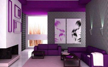 интерьер, дизайн, гостиная