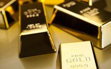 металл, золото, метал, слитки, золотая, bullion