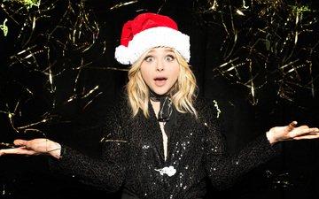 новый год, праздники, встреча нового года, хлоя грейс морец, хлоя морец, iheartradio jingle ball