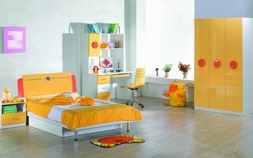furniture, bedroom, children's