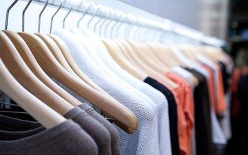 цвета, одёжа, одежда, расцветка, вешалки, clothes hangers, fabrics, ткани