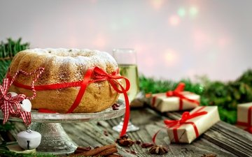 корица, выпечка, новогодний, елочная, baking, капкейк