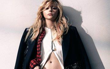 девушка, блондинка, портрет, взгляд, модель, лицо, актриса, фотосессия, хлоя грейс морец, нейлон, 2015 год, хлоя морец