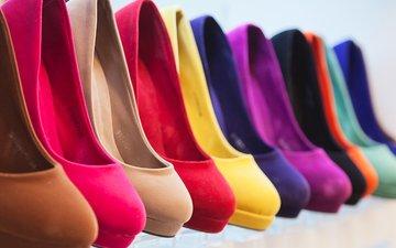 цвет, каблуки, окрас, туфли, same model, different color