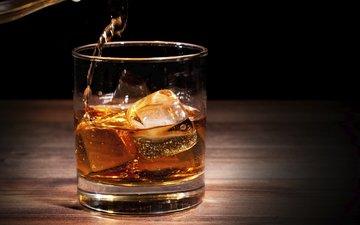 напиток, лёд, алкоголь, алкогольный напиток, serve ice, cтекло