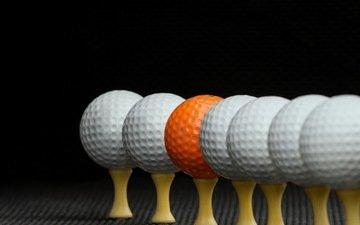 мяч, гольф, етекстура, мячи, бал
