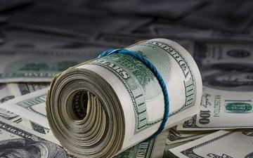 paper, money, bills, dollar, roll