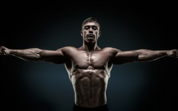 pose, hands, male, muscle, bodybuilder