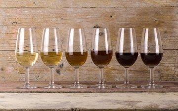 вино, белое, бокалы, алкоголь, красное, сорта