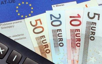money, currency, euro, finance, calculator