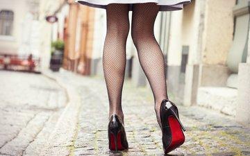 девушка, платье, ножки, каблуки, туфли, без задних ног, в платье