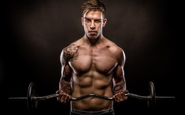 tattoo, male, power, fitness, muscles, muscle, tattoos