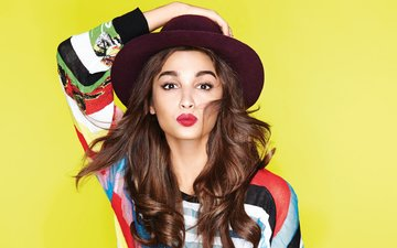 eyes, girl, pose, smile, brunette, model, hair, lips, face, actress, figure, sexy, beautiful, celebrity, bollywood, indian, alia bhatt
